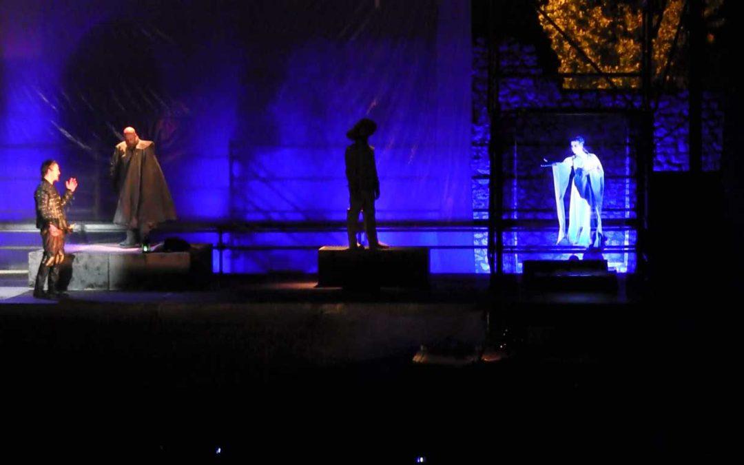 Holograma en D. Juan Tenorio 2016