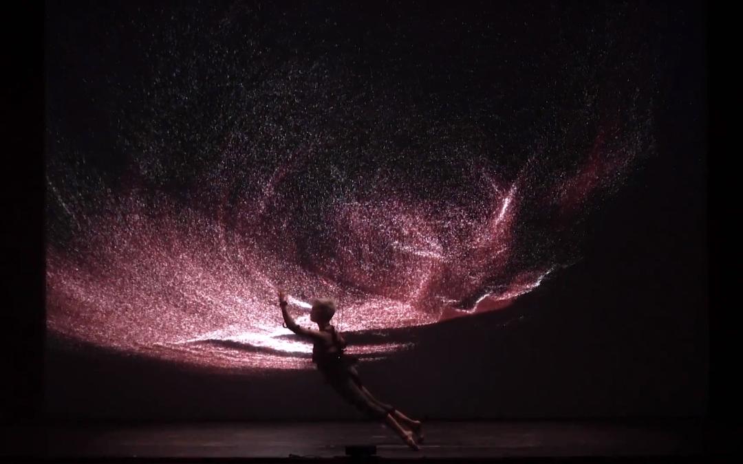 Pieza de danza aumentada holografica