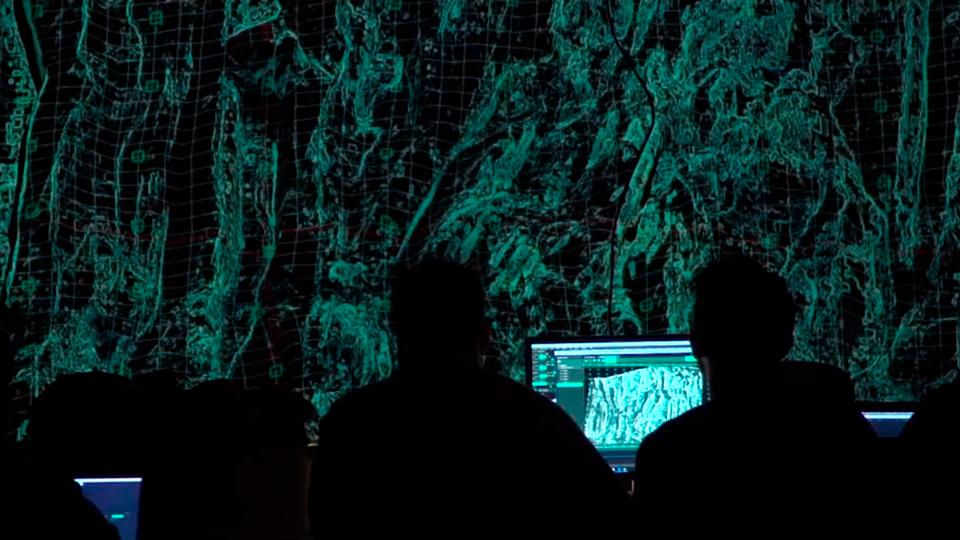 Barceló Corales – Video Mapping Interactivo En Roca Volcánica